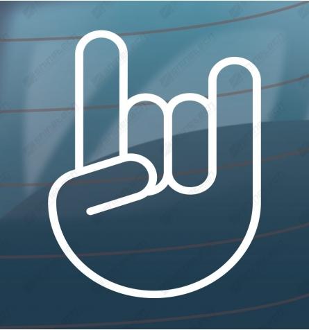 Metal - Håndtegn