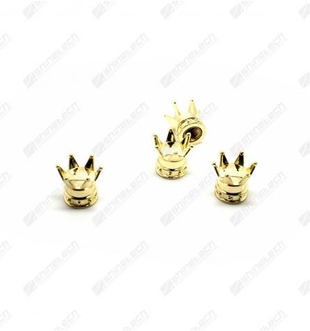 Ventilhætter - Kongekrone Guld