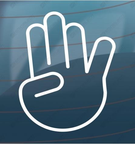 Show stopper - Håndtegn