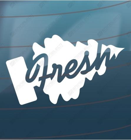 Fresh wunderbaum sticker
