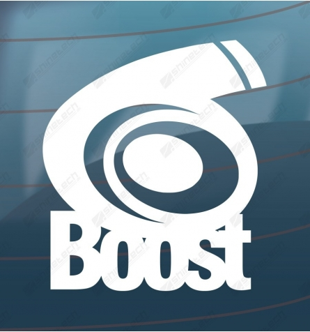 Boost - Turbo sticker