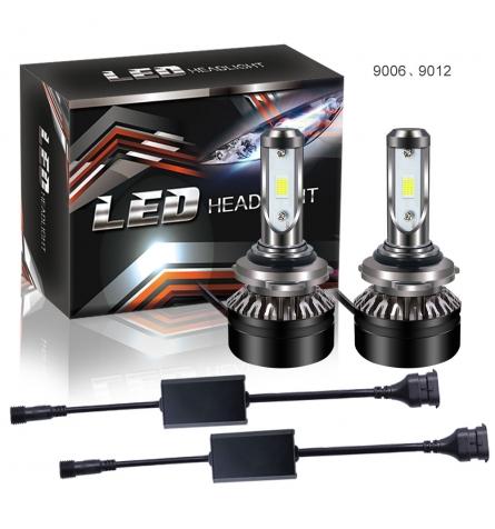 CanBus - HB4/9006 LED kit 12-24V 5000 LM - Kold hvid