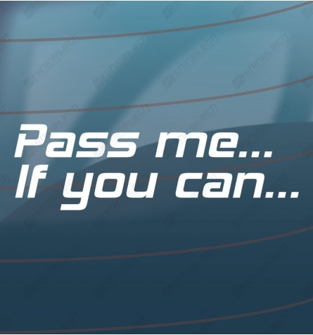 Pass me if you can