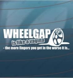 Wheelgab sticker