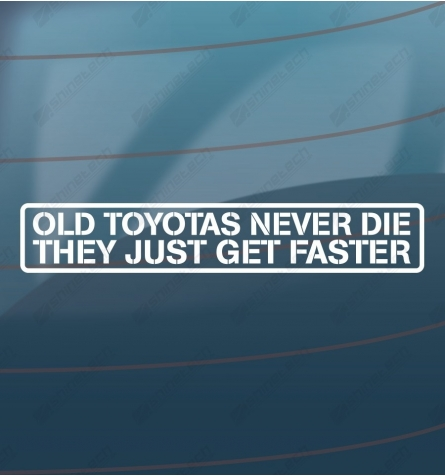 Old toyotas never die
