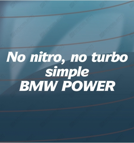 Simple BMW power