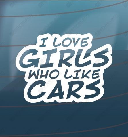 I love girls who like cars