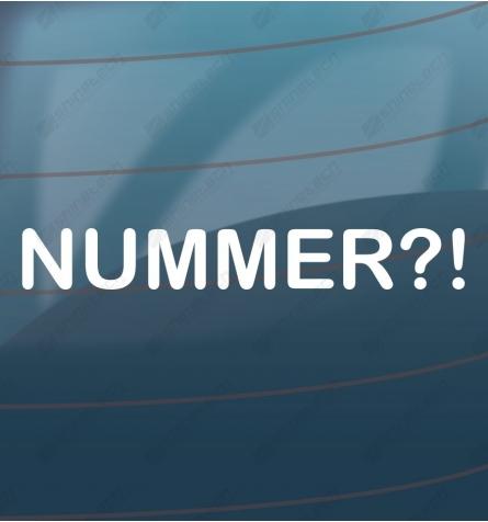 NUMMER!?