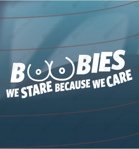 Boobies - we stare because we care