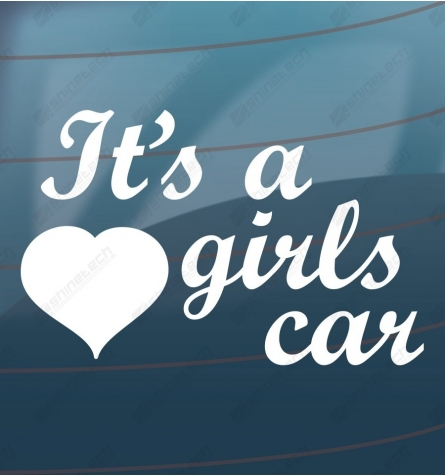 Its a girls car
