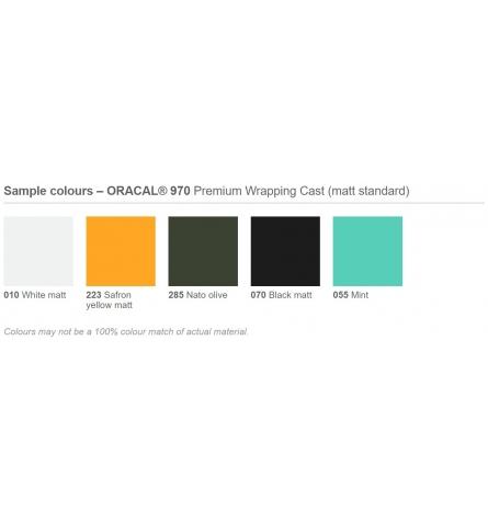 Indpakningsfolie m. kanaler - Matte farver