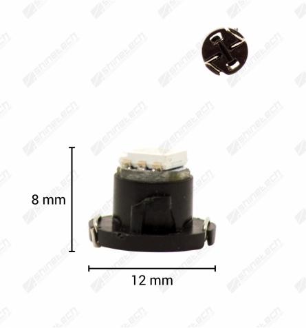 T4,7 1-LED SMD 12V 20 lm - Kold hvid