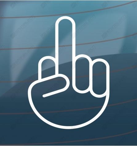 Fuck you - håndtegn