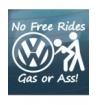 Nürburgring - VW sticker