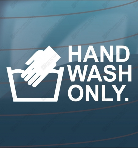 Hand wash only