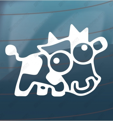Mad cow - Drift sticker
