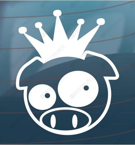 Crazy pig king - Drift sticker