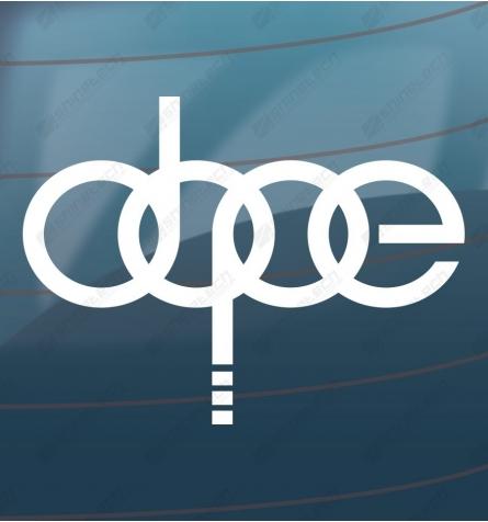 Dope - Audi sticker