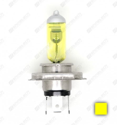 H4 (60/55W) 12V 2150/2000 lm - Gul (2900K)