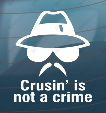 Crusing is not a crime