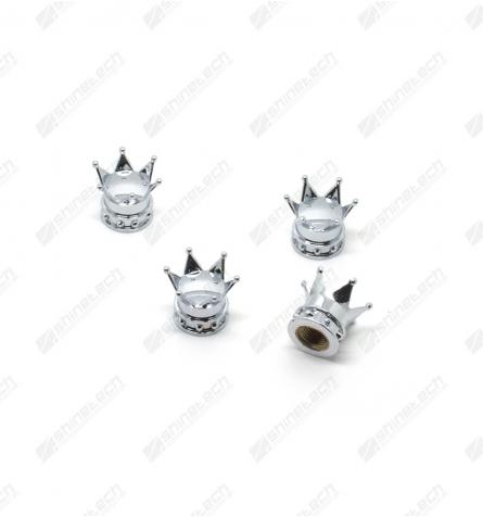 Ventilhætter - Kongekrone Sølv