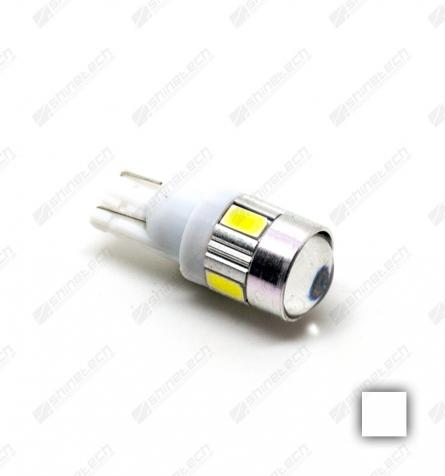 T10 6-LED SMD 24V 360 lm - Kold hvid