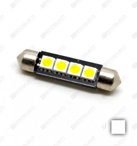 Pinolpære 41mm 4-LED SMD 6V 80 lm - Varm hvid