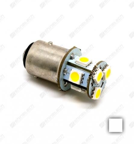 BAY15D 8-LED SMD 6V 160 lm - Varm hvid