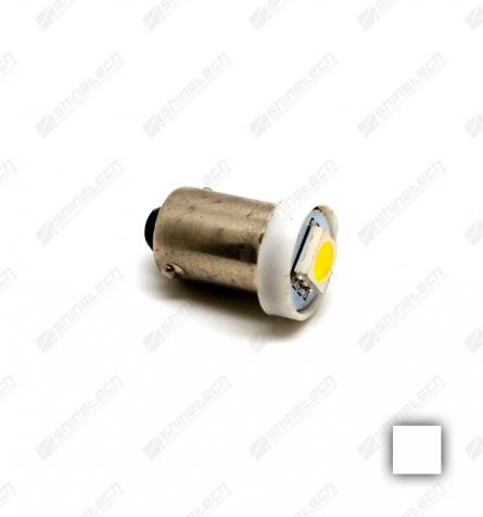 BA9S 1-LED SMD 6V 20lm - Varm hvid