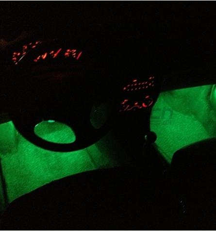 SMD LED Bånd 12V - Grøn