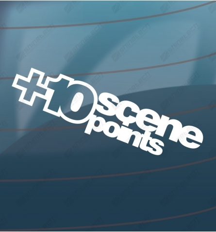 Add 10 scene points